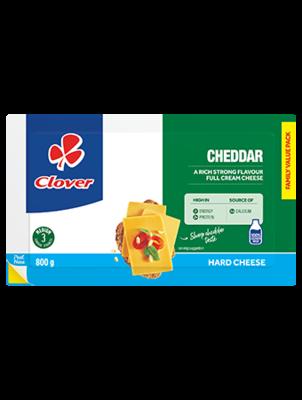 Clover Full Cream Cheese Cheddar 800g