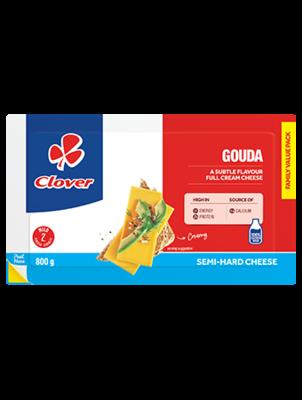 Clover Full Cream Cheese Gouda 800g