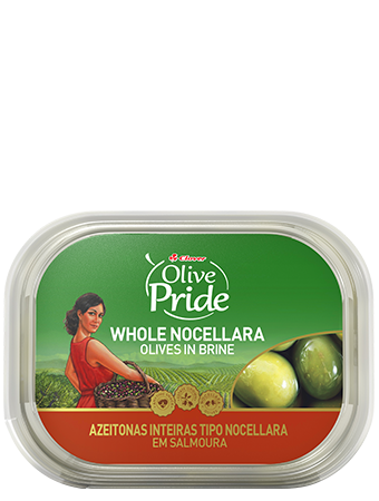 Olive Pride Natural Whole Nocellara Olives In Brine 280g