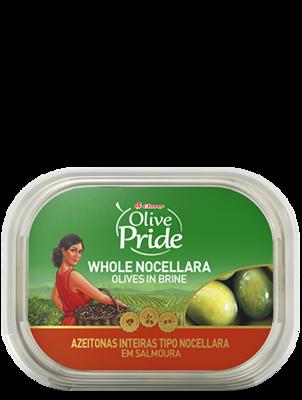 Olive Pride Natural Whole Nocellara Olives In Brine 280g