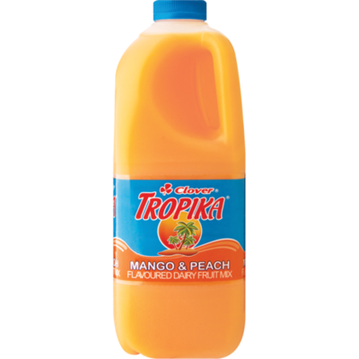Clover Tropika Juice Mango & Peach 2lt