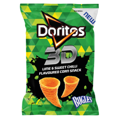 Doritos 3D Lime & Sweet Chilli Flavoured 100g