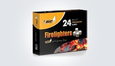 Bic Firelighters 24 Cubes