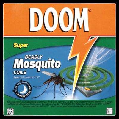 Doom Super Mosquito Coils 125g