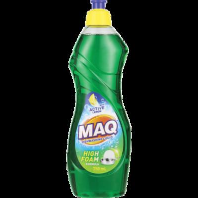 Maq Dishwashing Liquid Active Lemon 750ml