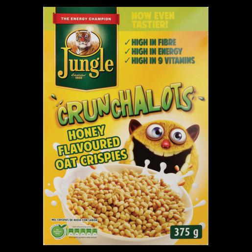 Jungle Crunchalots Honey Oat Crispies 375g