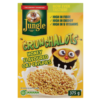 Jungle Crunchalots Honey Oat Crispies 375g