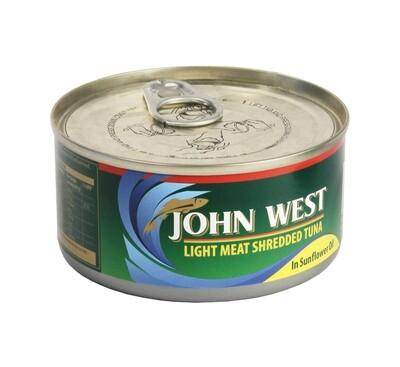 John West Shredded Tuna In Sunflower Oil 170g