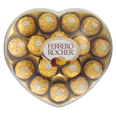 Ferrero Rocher T8 Heart Box 8s