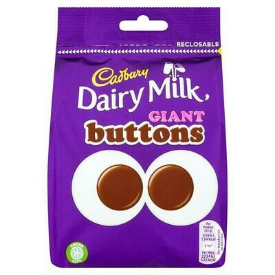 Cadbury Dairy Milk Giant Buttons Pouch 119g
