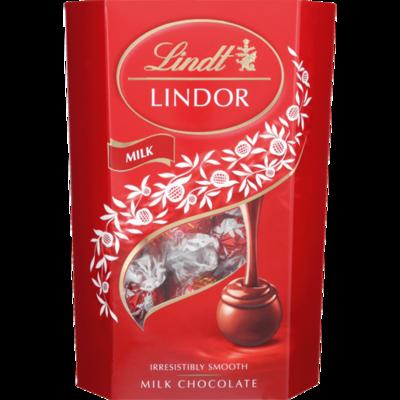 Lindt Lindor Cornet Milk Chocolate 200g