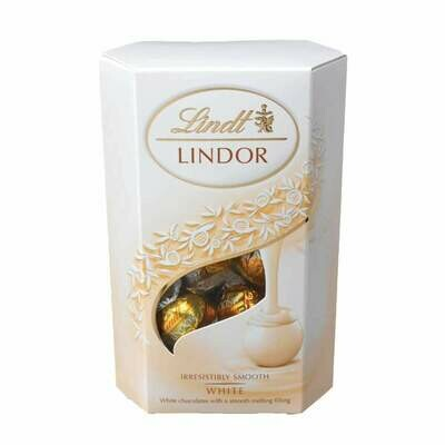 Lindt Lindor Cornet White Chocolate 200g