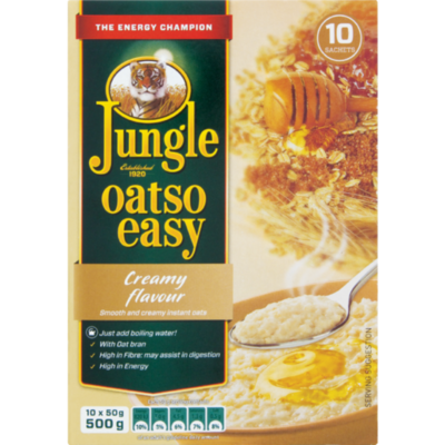 Jungle Oatso Easy Creamy 500g