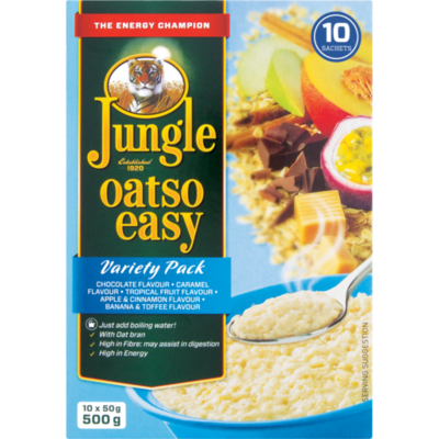 Jungle Oatso Easy Variety Pack 500g