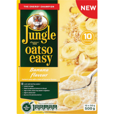 Jungle Oatso Easy Banana 500g