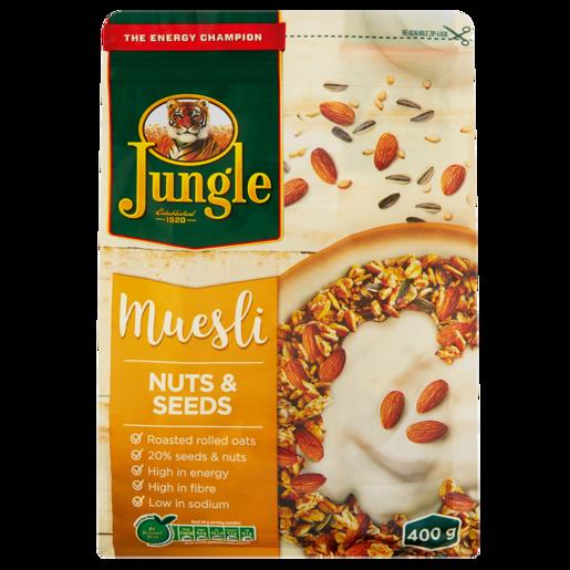 Jungle Muesli Nuts & Seeds 750g
