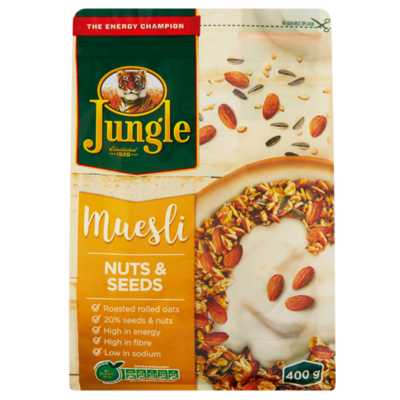 Jungle Muesli Nuts & Seeds 750g