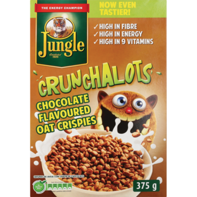 Jungle Crunchalots Chocolate Oat Crispies 375g