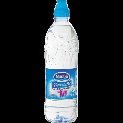 Nestlé Pure Life Still Water Sports Bottle 6x750ml