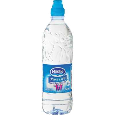 Nestle Pure Life Still Water Sports Bottle 6x750ml