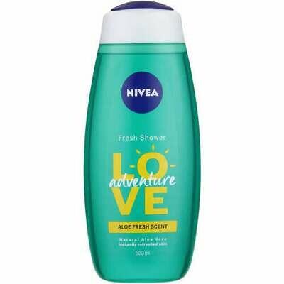Nivea Love Shower Gel Adventure 500ml