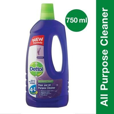 Dettol Floor & All Purpose Cleaner Lavender 750ml
