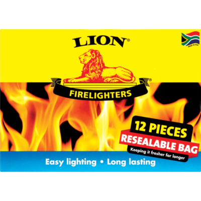 Lion Firelighters 12pcs