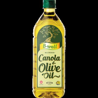 B-well Blended Canola & Olive Oil 1lt
