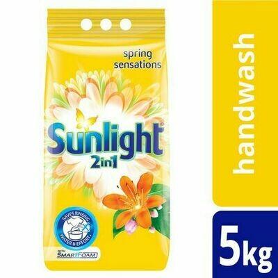 Sunlight 2in1 Handwashing Powder Spring Sensations 5kg