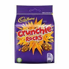 Cadbury Crunchie Rocks Pouch 110g