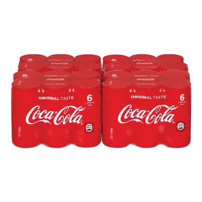 Coca Cola Can 24x200ml