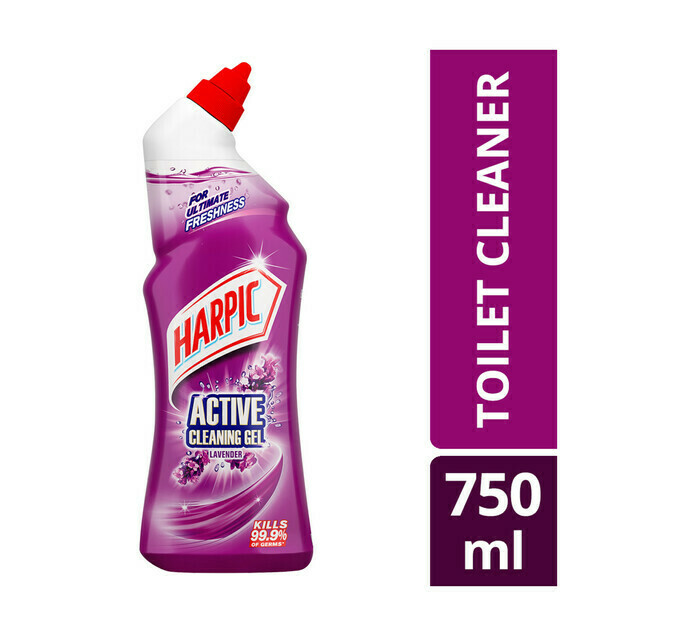 Harpic Active Cleaning Gel Lavender 750ml
