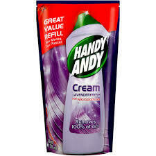 Handy Andy Cleaning Cream Lavender Fresh Refill 750ml