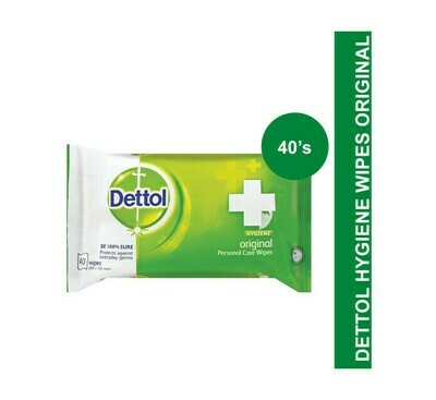 Dettol Original Wet Wipes 40 Wipes