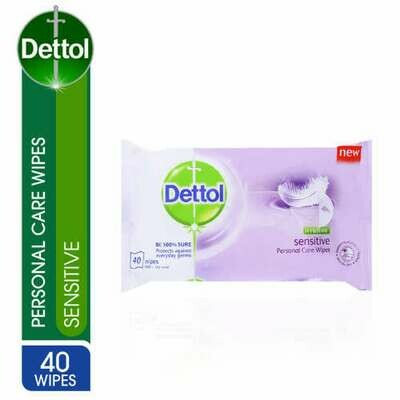 Dettol Sensitive Wet Wipes 40 Wipes