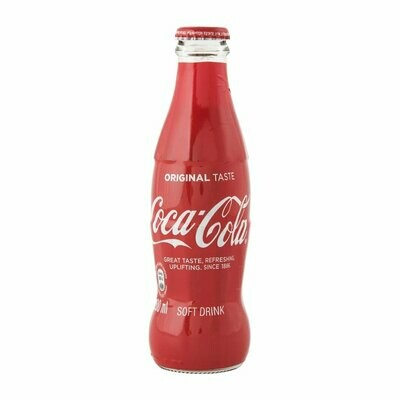 Coca Cola Original Glass Bottle 24x200ml