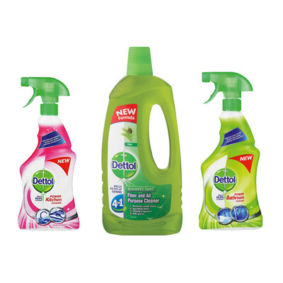 Dettol Cleaning Combo