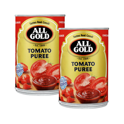 All Gold Tomato Puree 410g Buy 2 For