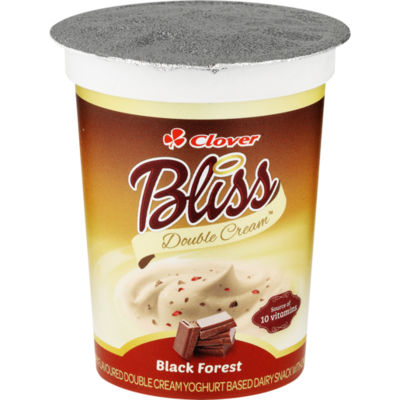 Clover Bliss Double Cream Black Forest 500g