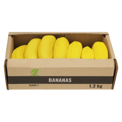 Bananas In a Tray 1.2kg