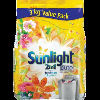 Sunlight 2in1 Auto Washing Powder Summer Sensations 3kg