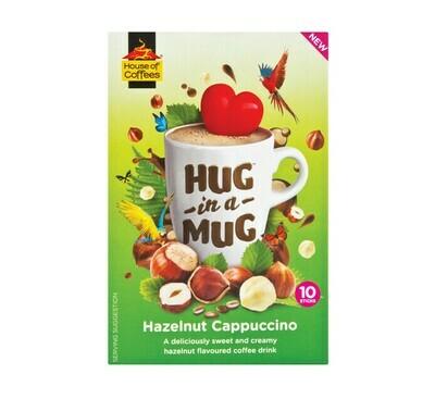 Hug in a Mug Hazelnut Cappuccino 10x24g