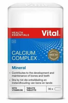Vital Calcium Complex Mineral 30 Tablets