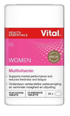 Vital Women Multivitamin 30 Tablets