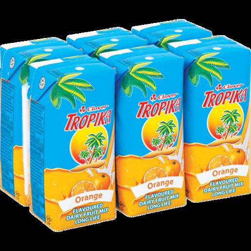 Clover Tropika Easy Orange 6x200ml