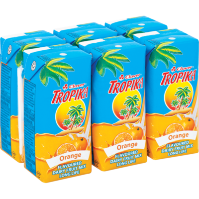 Clover Tropika Easy Orange 6x200ml
