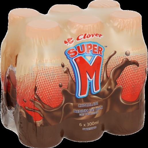 Clover Super M Chocolate 6x300ml