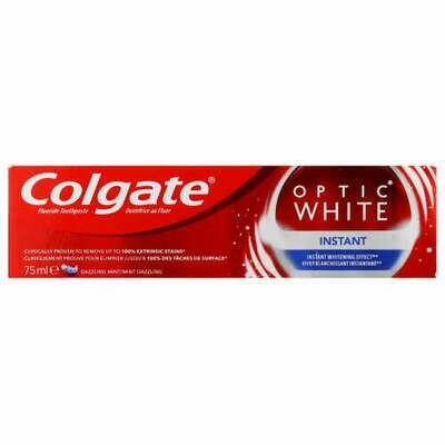 Colgate Toothpaste Optic White Instant 75g