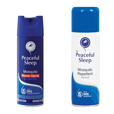 Peaceful Sleep Mosquito Repellent + Room Spray