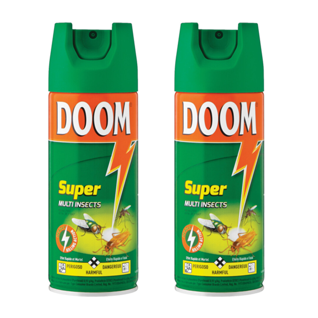 Doom Super Multi Insects 300ml Buy 2 For
